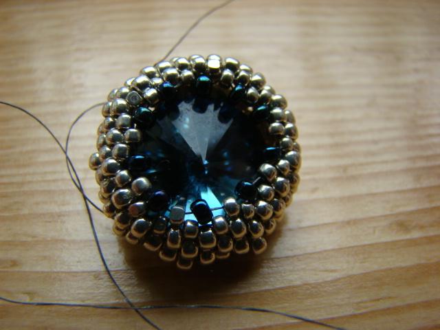 Beaded earring